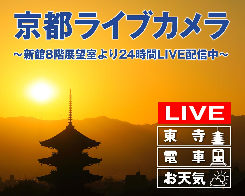 東寺国宝「五重塔」24時間 LIVE 配信