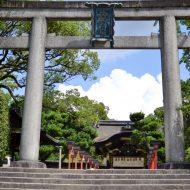 夏の豊国神社