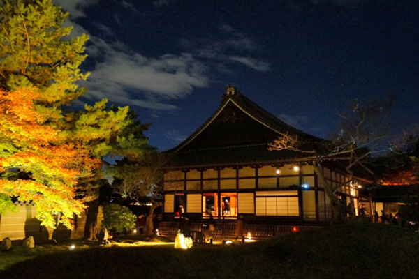 高台寺の紅葉