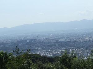 ブログ 将軍塚より 京都タワーを望む5 DSCF0236.JPG